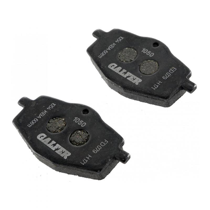 Plaquettes de frein Galfer G1050 semi-métal FD079 - 1