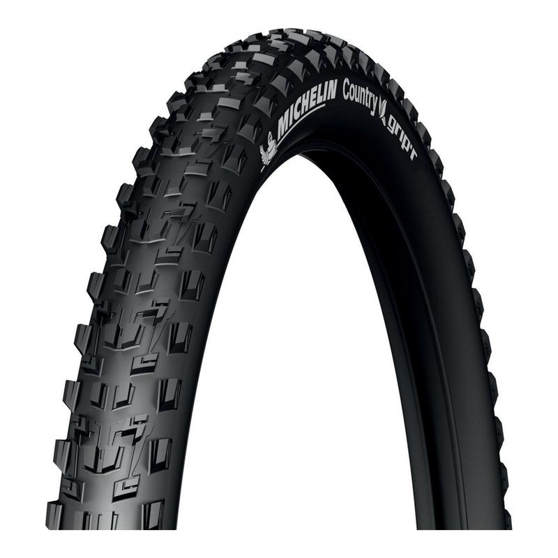 Pneu vélo VTT Michelin Country Grip'R TR noir (26 X 2.10'')