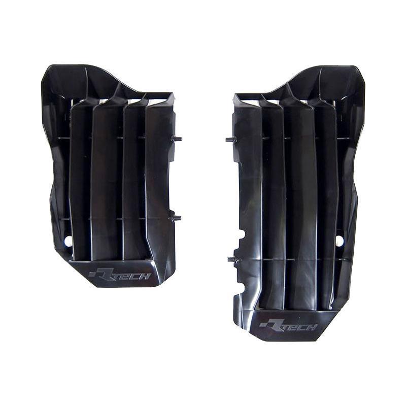Protection de radiateur RTech Honda CRF 250R 18-19 noir