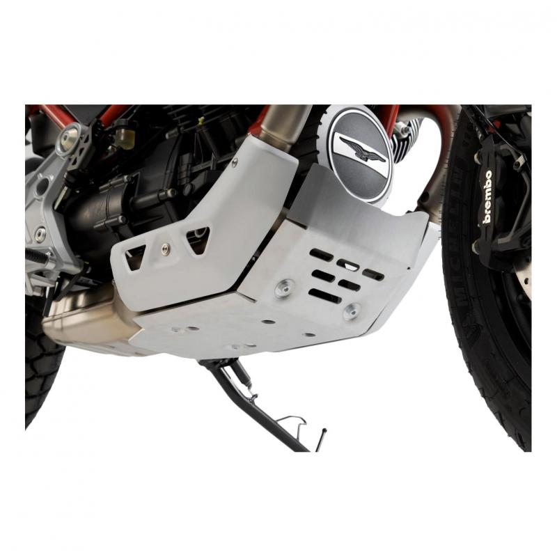 Sabot moteur SW-Motech alu Moto Guzzi V85 TT 19-20 - 2