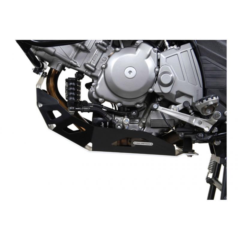 Sabot moteur SW-MOTECH noir Suzuki DL 650 V-Strom 10- 2Generation - 1