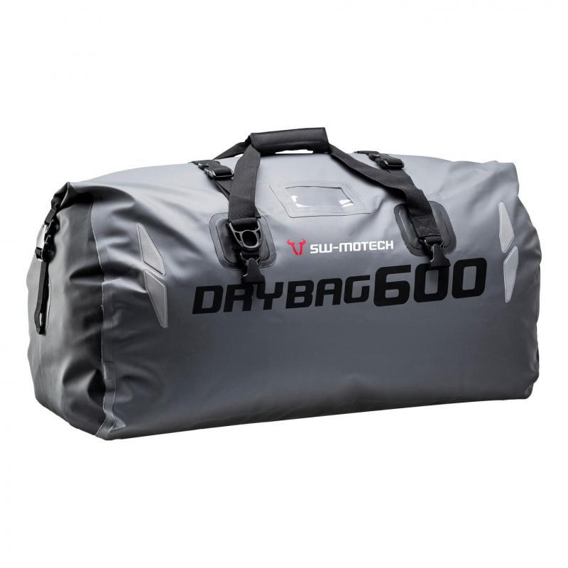 Sac de selle SW-MOTECH Drybag 600 60L gris / noir