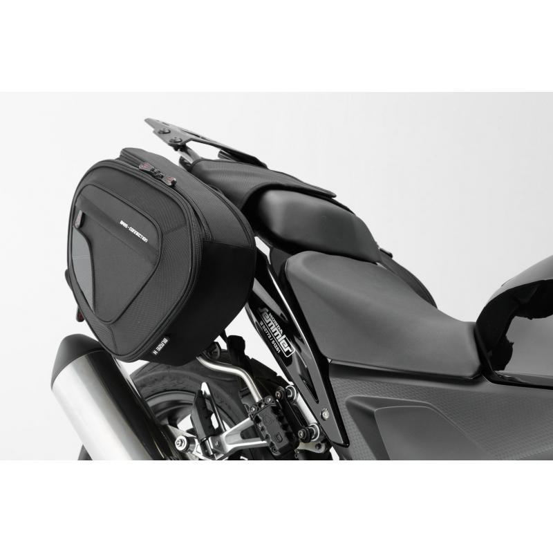 Sacoches latérales SW-Motech Blaze noir / gris Honda CB 650 F 14-18