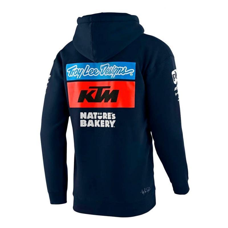 Sweat à capuche enfant Troy Lee Designs Team KTM 2020 navy - 1