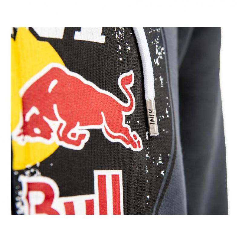 Sweat capuche Kini Red Bull Circle dark grey - 1