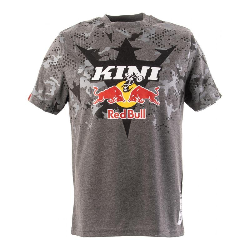 T-shirt Kini Red Bull Urban camouflage gris