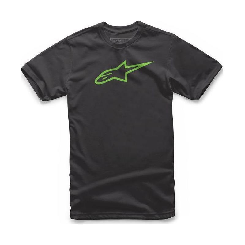 Tee-shirt enfant Alpinestars Kid's Ageless noir/vert