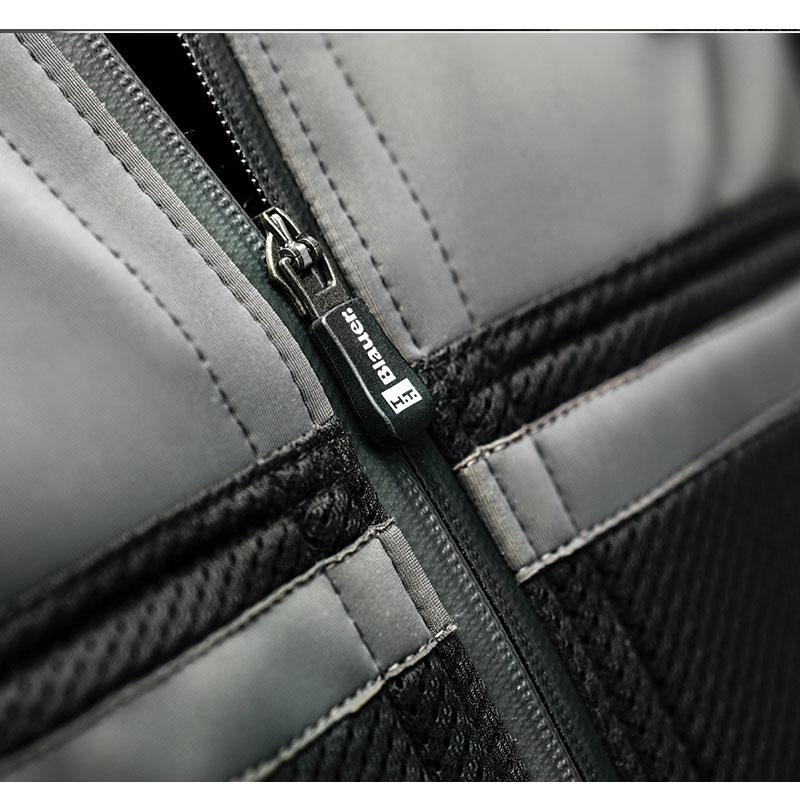 Veste moto homme Blauer Easy Rider Air noir/gris - 2