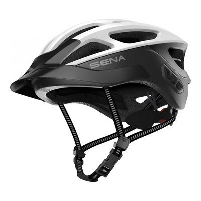 Casque vélo Sena R1 EVO Mesh Intercom™ intégrée blanc mat