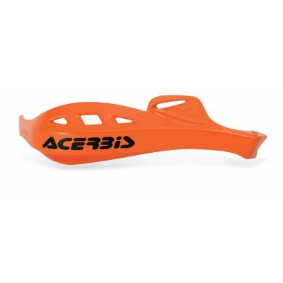 Plastiques de remplacement Acerbis pour protège-mains Rally Profile orange (paire)