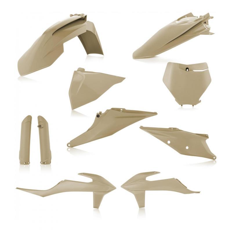 Kit plastique complet Acerbis KTM 125 SX 19-21 sable
