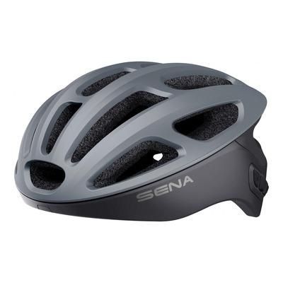Casque vélo Sena R1 intercom Bluetooth® intégrée gris mat
