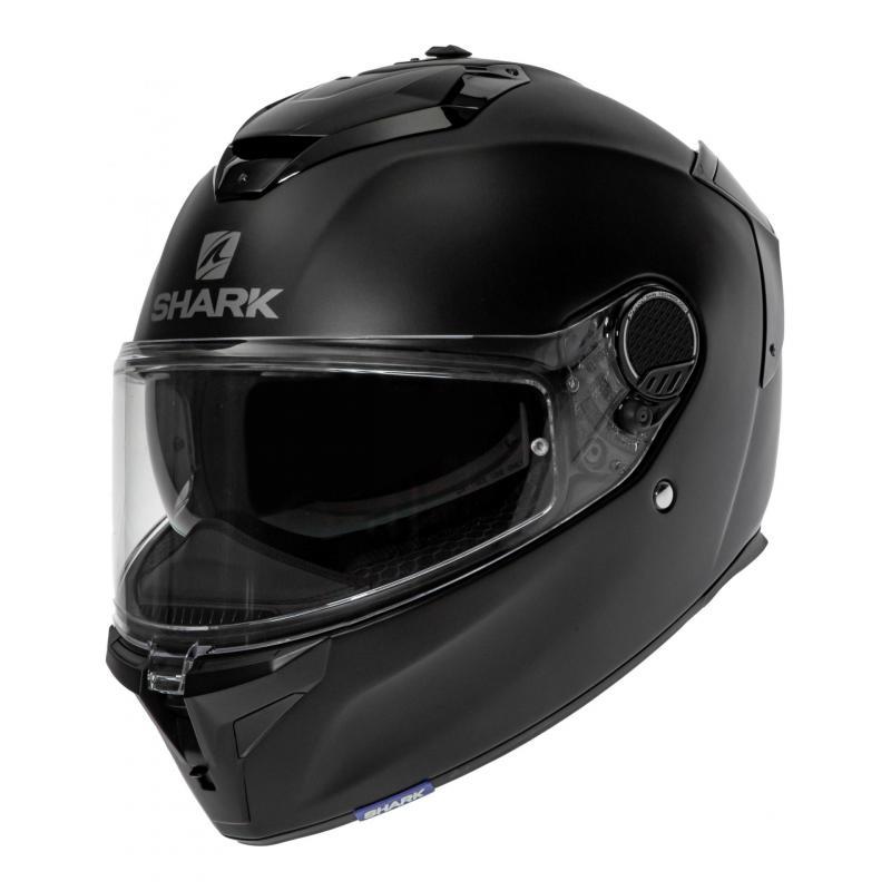 Casque intégral Shark Spartan GT Blank noir mat