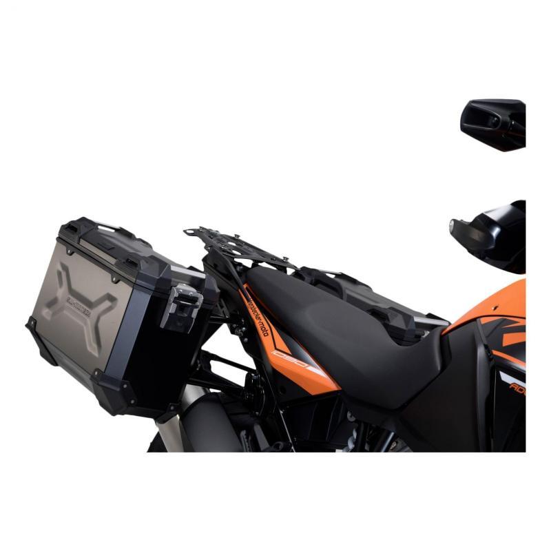 Valises latérales SW-Motech TRAX ADV noires 45/37L KTM 1290 Super Adventure 15-20 - 1