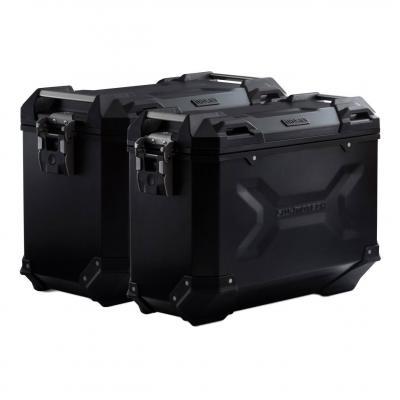 Kit valises SW-Motech Trax ADV 45-37L noires support PRO KTM 790 Adventure 19-20
