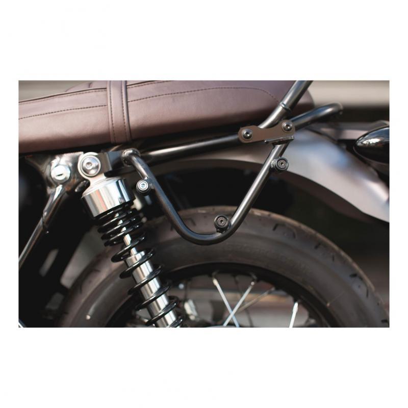 Support pour sacoche latérale SW-MOTECH SLC gauche Triumph Bonneville T120 16- Pour LC1 / LC2