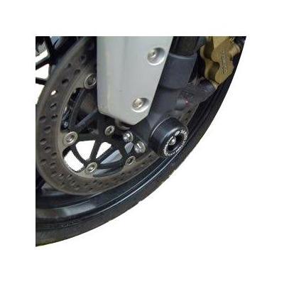 Tampons de protection de fourche R&G Racing noirs Yamaha YZF-R6 03-04