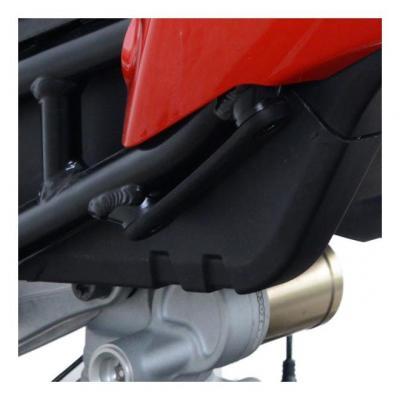 Caches orifices de repose-pieds passager R&G Racing noir BMW S 1000 RR 19-20
