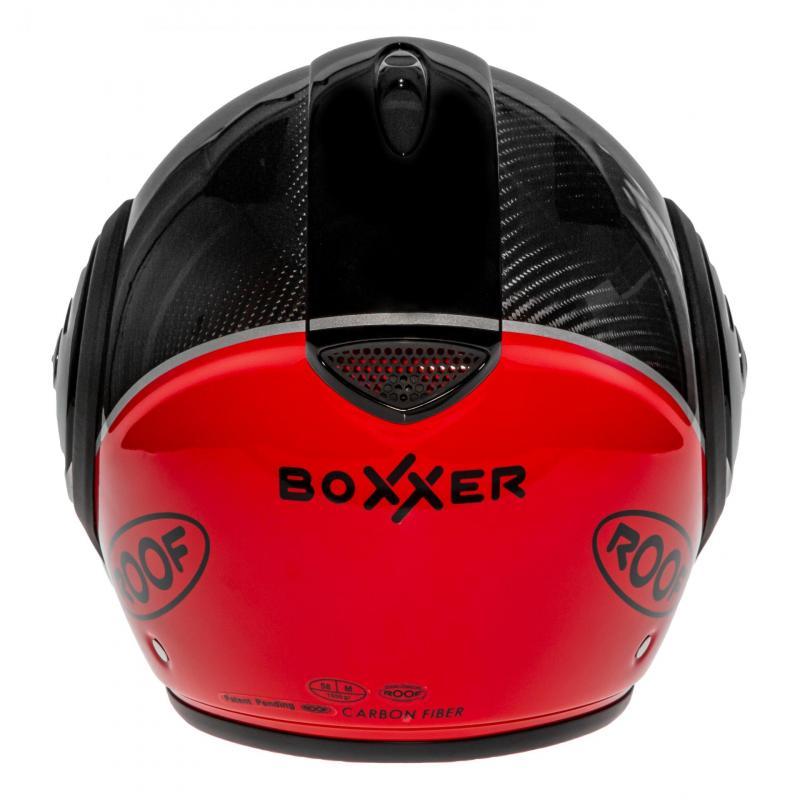 Casque modulable Roof RO9 Boxxer Carbon Uni rouge - 6