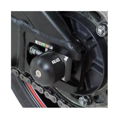 Tampons de bras oscillant R&G Racing noir Suzuki GSX-R 1000 03-16