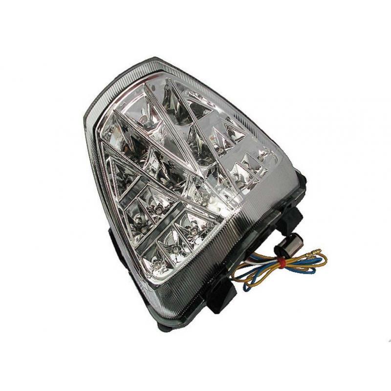 Feu arrière à LED avec clignotants intégrés pour Honda CBR 125 R 10-16