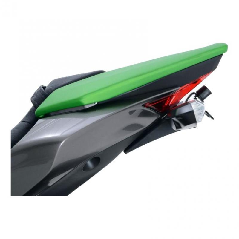 Support de plaque d'immatriculation R&G Racing noir Kawasaki Z 1000 14-18