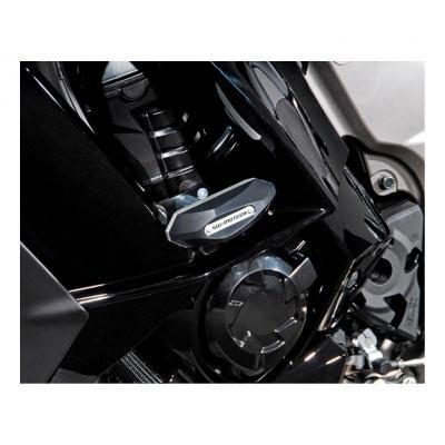 Kit de tampons de protection SW-MOTECH noir Kawasaki Z 1000 SX 11-