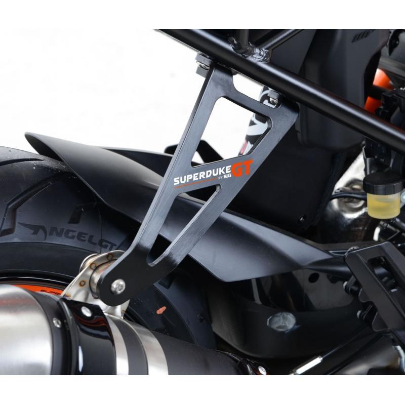 Patte de fixation de silencieux R&G Racing noire KTM 1290 Super Duke GT 16-18