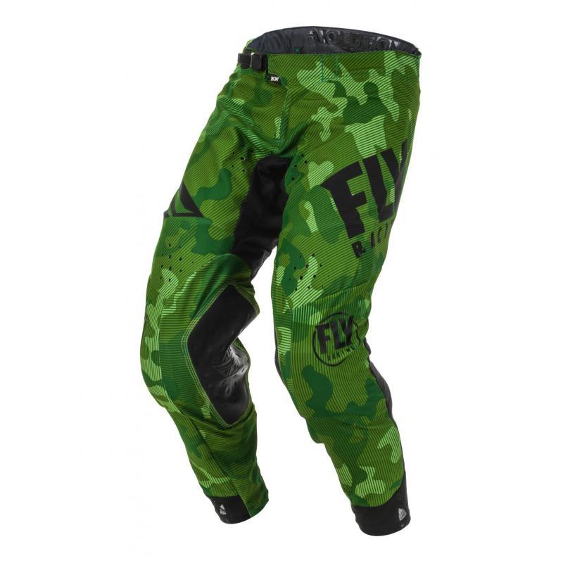 Pantalon cross Fly Racing Evolution DST Racewear vert/noir