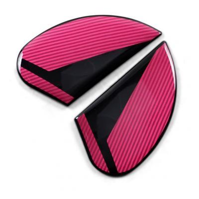 Plaques latérale Icon pour casque Airform Conflux rose