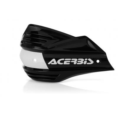 Plastiques de remplacement Acerbis pour protège-mains X-Factor noir (paire)