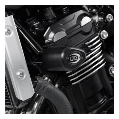 Tampons de protection R&G Racing Aero noir Kawasaki Z900 RS 2018