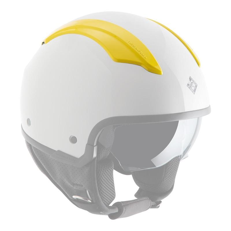 Couvercles de ventilation amovibles Tucano Urbano pour casque EL'FRESH jaune toucan brillant