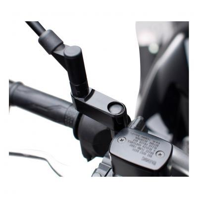 Extensions de rétroviseur SW-MOTECH universel noir Yamaha / Ducati droite/gauche