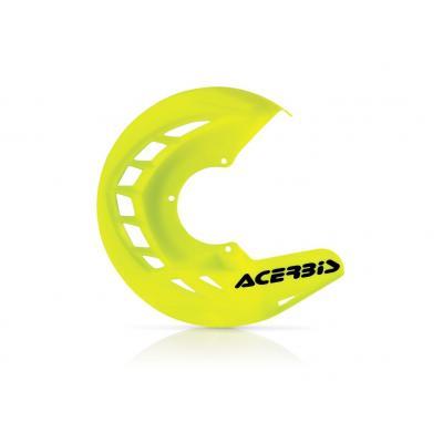 Protège disque de frein avant Acerbis X-BRAKE jaune fluo