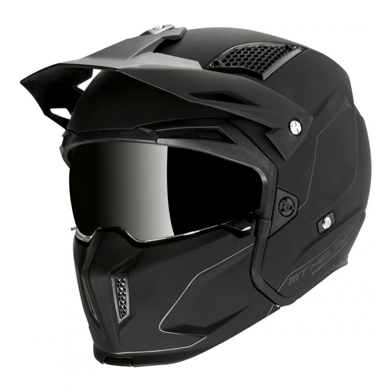 Casque transformable MT Helmets Streetfighter SV noir mat