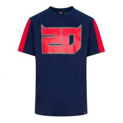 Tee-shirt Fabio Quartararo 20 bleu/rouge