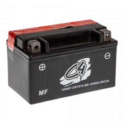 Batterie C4 CBTX7A-BS 12V 6Ah