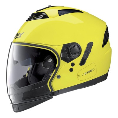 Casque transformable Grex G4.2 Pro Kinetic N-Com Led jaune
