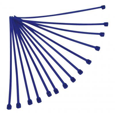 Collier de serrage nylon 4,8x300 mm RTech bleus