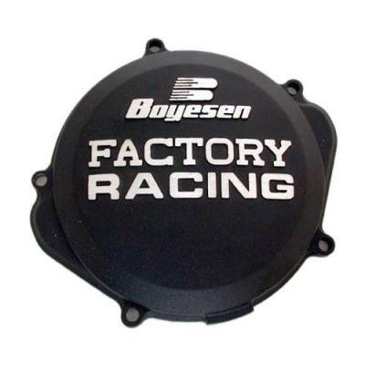 Couvercle de carter d'embrayage Boyesen Factory Racing Kawasaki 250 KX-F 09-17 noir