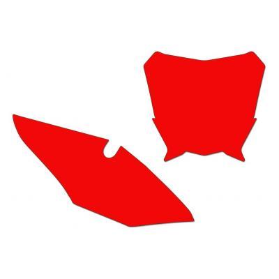 Fonds de plaques Blackbird Honda CRF 450R 17-18 rouge