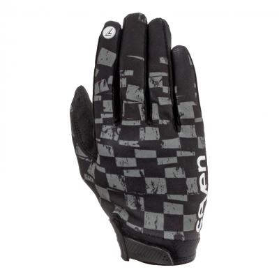 Gants cross Seven Annex Checkmate noir