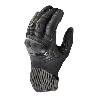 Gants cuir/textile Rev'it Metric noir/anthracite