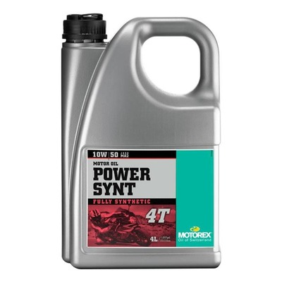 Huile moteur 4T Motorex Power Synt 10W50 4L