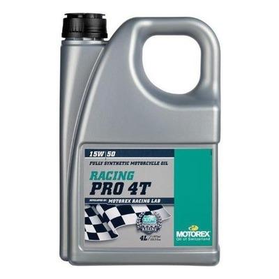 Huile moteur 4T Motorex Racing Pro 15W50 4L