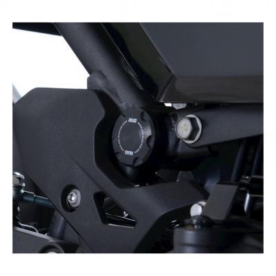 Insert de cadre R&G Racing droit ou gauche noir Kawasaki Ninja 400 18-20