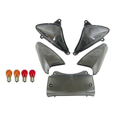 Kit 5 cabochons clignotant + Feu arrière Yamaha TMAX