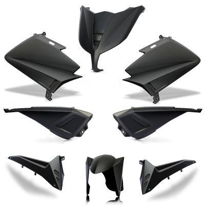 Kit carénage BCD sans poignées / avec rétro Tmax 530 15-16 noir mat