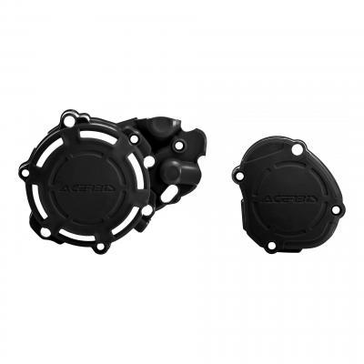 Kit de protections carters Acerbis X-Power Yamaha 125 YZ 05-20 noir